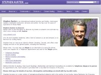 Stephen Austen - Clairvoyant medium, healer, channel and author
